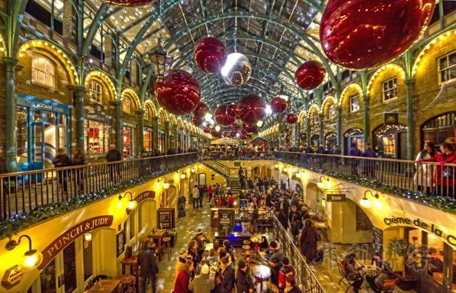 英國聖誕集市