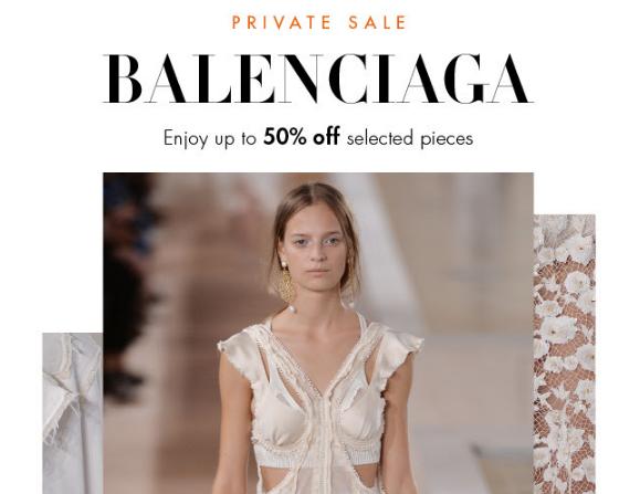 德國Mytheresa網購巴黎世家Balenciaga Private Sale低至 5 折/限時免運寄港澳