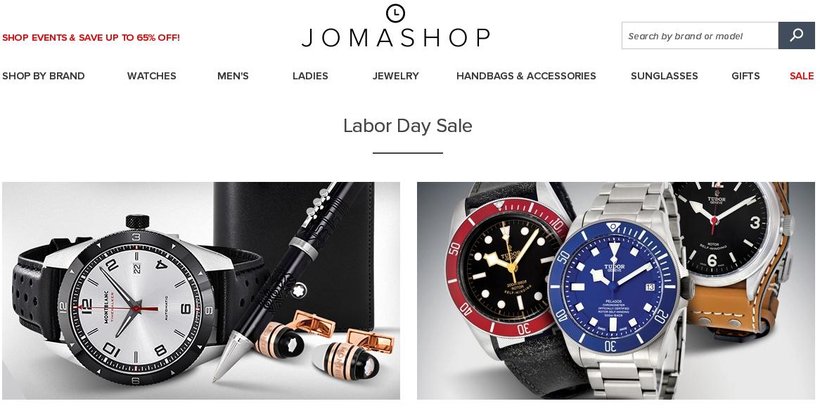 2017 Jomashop官網勞工節購買品牌手錶特價/優惠碼/折扣碼