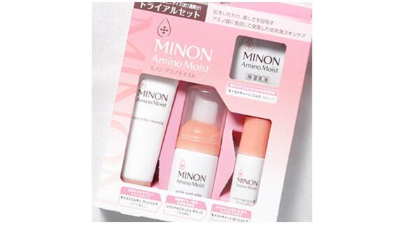 日本亞馬遜優惠碼2018 MINON 氨基酸實用保濕旅行套裝4件套 再次890日元+支持直郵+湊單滿減