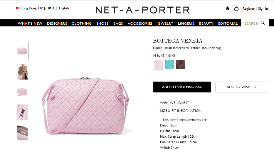 Net-A-Porter名牌網站2018最新9折優惠碼,新款同經典款包包都有折扣