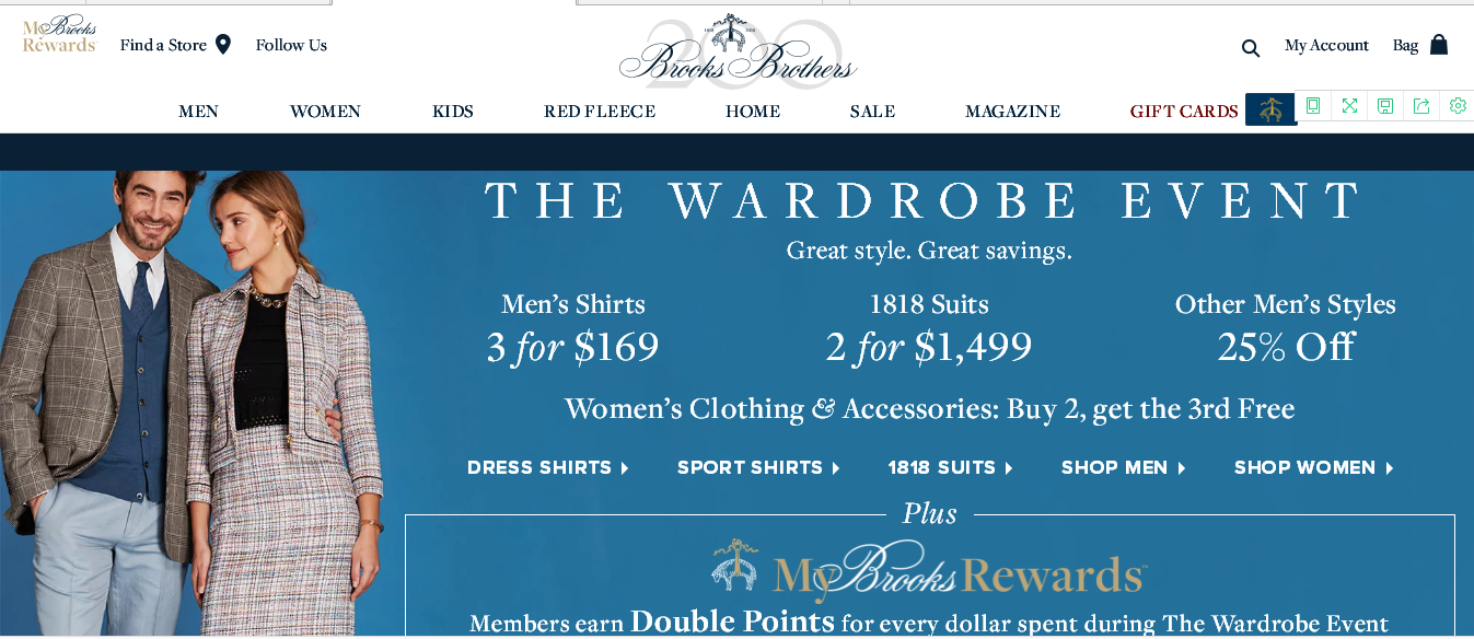 Brooks brothers優惠碼2018【Brooks Brothers】The Wardrobe Event多重折扣預告