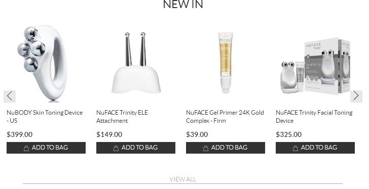 SkinStore2018優惠碼 NuFACE 微電流美容儀一日閃促 7折+滿額送禮包