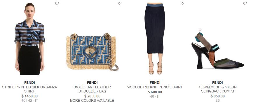 Luisaviaroma2018優惠碼 Fendi精選包包、鞋子、配飾熱賣 秀場款KAN I也參加 低至8.5折+免稅