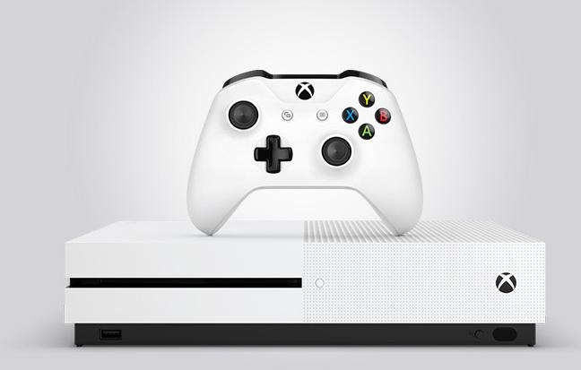 京東優惠碼2018 京東微軟官方自營旗艦店 Microsoft微軟 Xbox One S 1TB 游戲機 ¥1849
