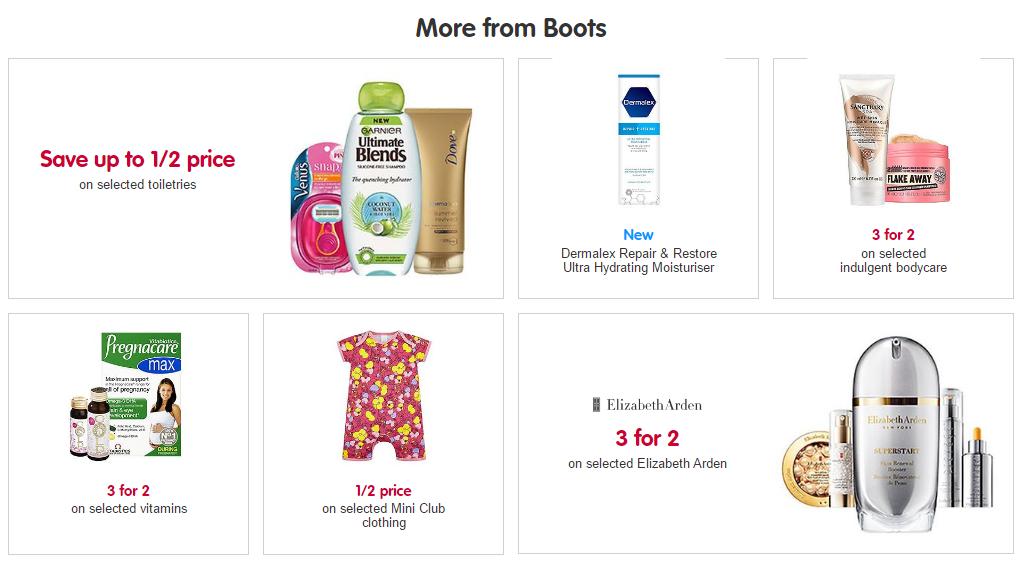 英國boots最新2018暑假優惠促銷-boots購護膚品/母嬰用品/保健品超低價