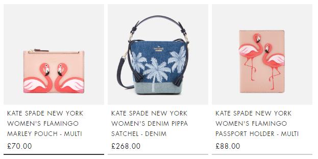 mybag.com UK2018優惠碼 Kate Spade優惠碼 新款夏日美包大促 折扣升級全線7折+直郵