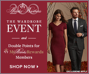 Brooks Brothers優惠碼2018【Brooks Brothers】Wardrobe Sale!