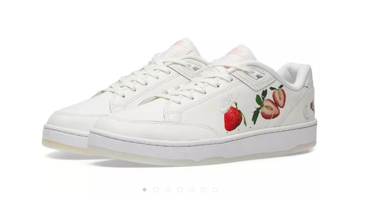 END官網優惠碼2018 草莓鞋!Nike 耐克 Grandstand 2 Pinnacle 中性款休閑鞋 特價$75,約518元