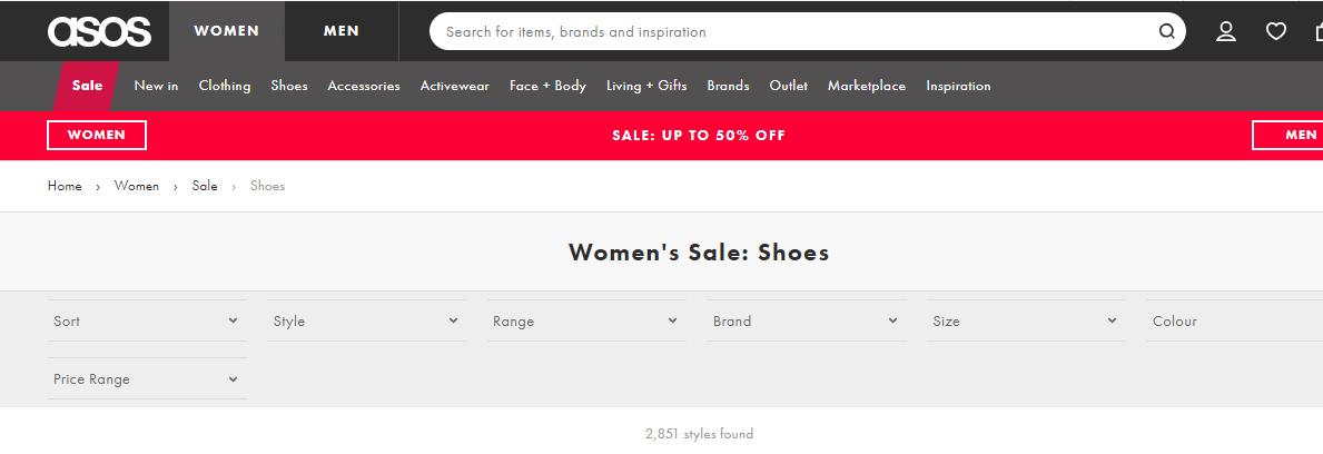 ASOS官網低至5折優惠碼2018,Adidas精選單品推介/服飾內衣鞋都折扣