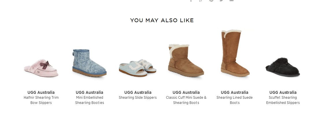 Saks Off 5TH優惠碼2018 UGG Australia Poppy Button 女款雪地靴 折後$75.59,轉運約¥640