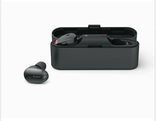 eBay優惠碼2018 SONY 索尼 降噪豆 WF-1000X 分體式主動降噪藍牙耳機 官翻版 特價$59,轉運到手約453元