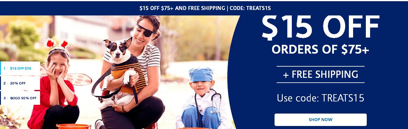 Vitamin Shoppe優惠碼2018【Vitamin Shoppe】滿$75減$15!
