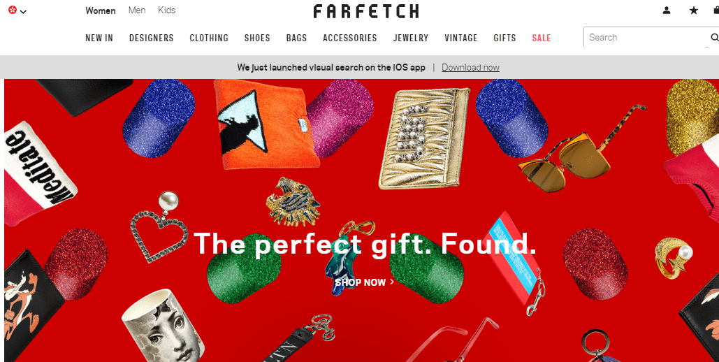Farfetch 2018雙11促銷活動/名牌網Farfetch瘋狂勁減至78折 鞋包服飾特惠