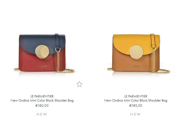 意大利名牌網Forzieri優惠碼2018 購法國品牌Le Parmentier袋款8折,低至HK$768起