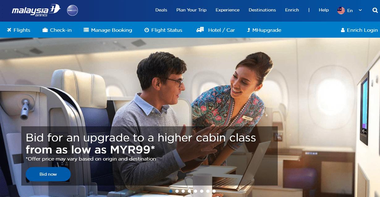 馬來西亞航空優惠碼2018 malaysiaairlines年底大促開始