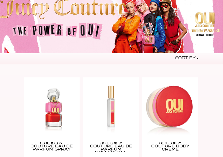 Juicy Couture Beauty優惠碼2019【Juicy Couture Beauty】限時滿享8折!