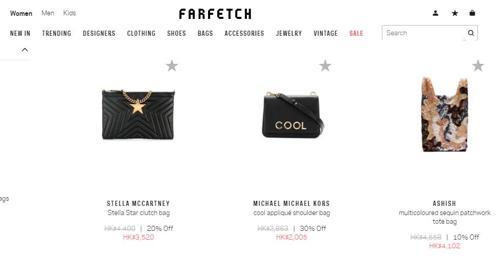 2019年最新Farfetch折扣碼-Farfetch優惠券&首購優惠碼-Farfetch限時7折優惠