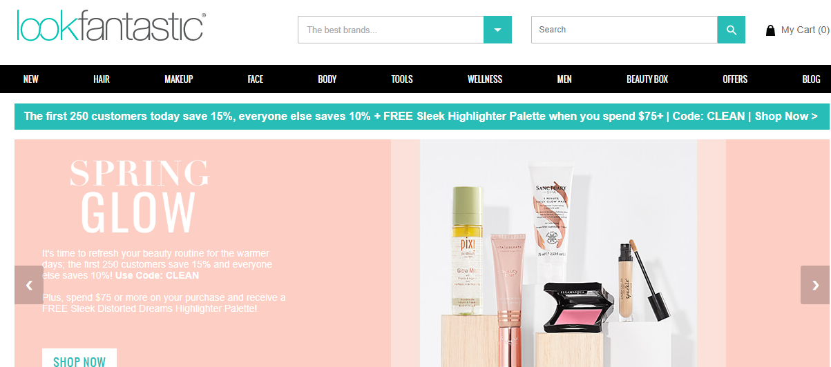 Lookfantastic網站購護膚品有全線7折優惠,英國高級護膚品牌Elemis折完低至專櫃價34折
