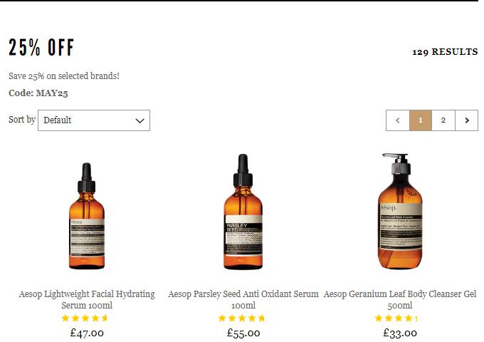 英國網站Mankind最新優惠碼2019, 全線護膚護理品牌75折優惠,澳洲頂級護理品牌Aesop折完只要HK$418