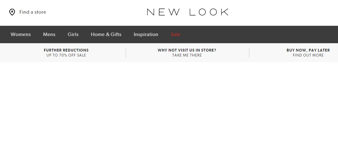 New Look 網站折扣碼2019, 夏季精選服飾Sale低至3折優惠