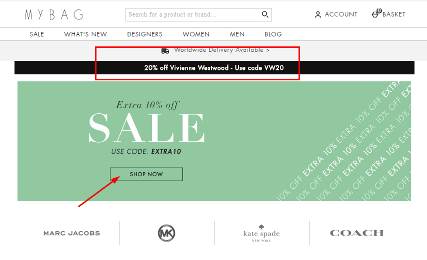 My Bag.com優惠碼2020, MyBag一月促銷折扣 購時裝/包袋/配飾8折優惠