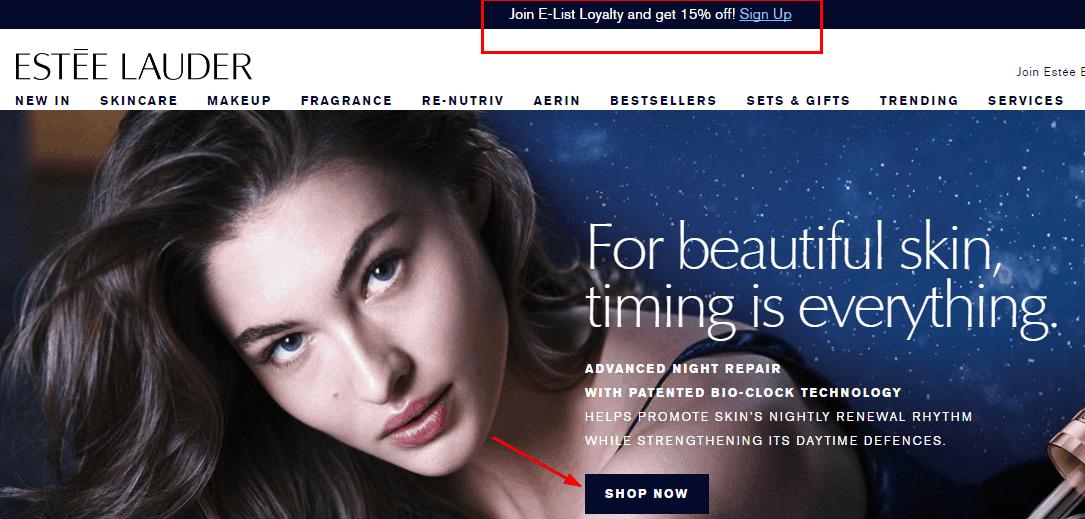 Estée Lauder香港網優惠碼, 化妝品2020新年優惠, 購眼霜或亮眼精粹,即可選購75ml皇牌修護露